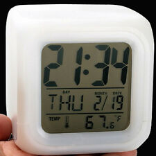 12-Hour Display, Alarm, Battery Backup, Battery Powered, Date/Calendar Modern