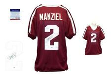 Johnny Manziel SIGNED Jersey - PSA/DNA - Texas A&M Autographed
