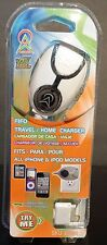 iPhone 4, iPhone 3, iPad, iPod 30 pin Home/Travel US 110w Charger Fifo Wireless