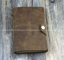 small Diaries Journals notebook genuine leather vintage D20141106