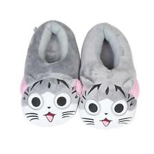 Cartoon Cat Slippers Soft Winter Warm House Indoor Flat Shoes Plush Shoes