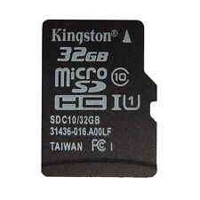 Kingston 32GB Micro SD SDHC SDXC Class10 TF 32G C10 Memory Card With Adapter New