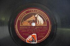 JACK HYLTON 78RPM WEDDING OF THE PAINTED DOLL / MY SIN.
