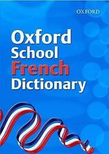 Oxford School French Dictionary,GOOD Book