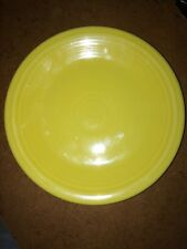 """FiestaWare by Homer Laughlin - 7 1/4"""" lunch plate in Sunflower Yellow"""