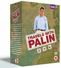 The Complete Michael Palin Travels DVD Collection: (20 Discs) Box Set New