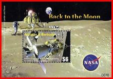 ANTIGUA 2006 BACK TO MOON S/S = SPACE SC#2925 MNH **