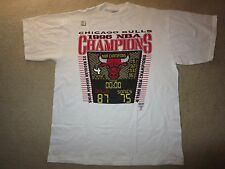 Chicago Bulls- Seattle Sonics 1996 NBA Champions Locker Room Shirt XL NEW