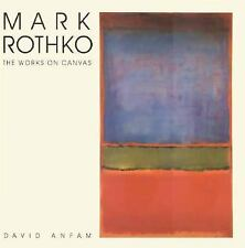 Mark Rothko: The Works on Canvas (Yale Language) by Anfam, David