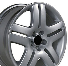 "17"" Wheels For VW Jetta Golf Passat 17x7.0"" 5x100 +38 Rims Set Of (4)"