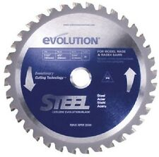 "Evolution 7-1/4"", 40T Tungsten Carbide Tipped Saw Blade"