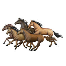 Rustic Southwestern Running Horses Wall Art, by Collections Etc