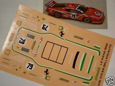 FERRARI 512 BB LE MANS 1981 UNIVERSITY 1/43 DECALS FDS AUTOMODELLI