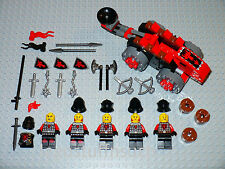 NEW LEGO Minifigure Castle Red dragon black Knight catapult soldier figure 70404