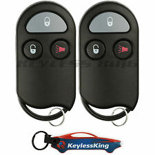 2 Replacement for 2000 Nissan Xterra Key Fob Remote, KOBUTA3T