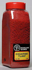 NEW Woodland Scenics Turf Coarse Fall Red 32 oz T1355