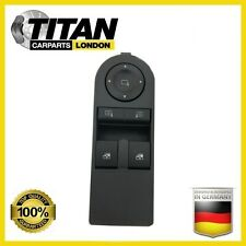 FOR VAUXHALL ASTRA H ZAFIRA B FRONT DRIVERS SIDE ELECTRIC WINDOW SWITCH 13228706
