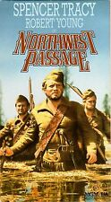 VHS Northwest Passage: Spencer Tracy Robert Young Ruth Hussey Walter Brennan