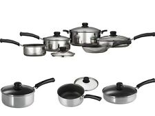 Mainstays Classic Nonstick 9-Piece Pots And Pans Cookware Set Sets