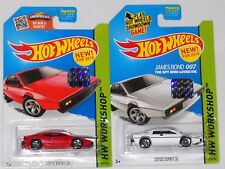 2015 HOT WHEELS RLC FACTORY SET WORKSHOP LOTUS ESPIRIT S1 X2 BOTH COLORS