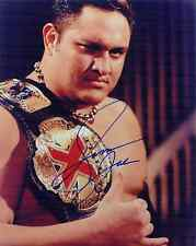 SAMOA JOE TNA SIGNED AUTOGRAPH 8X10 PHOTO #2 W/ PROOF