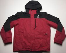 GERRY MENS RED HOODED WINTER SKI COAT SIZE MEDIUM $275