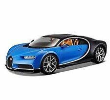 MAISTO BUGATTI CHIRON BLUE / BLACK 1:24 DIECAST MODEL CAR  31514