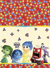 DISNEY INSIDE OUT BIRTHDAY PARTY PLASTIC TABLECLOTH TABLE COVER!