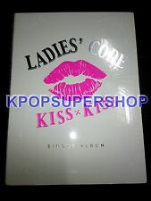 Ladies Code Kiss Kiss Single CD Great Condition Signed Sojung Photocard Rare OOP