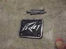 1980s Peavey Guitar / Bass Neck Plate Part Vintage 1981 T40 T60 NICE