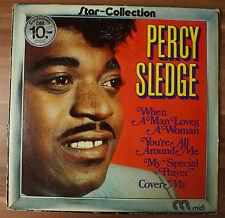 """12"""" LP Vinyl Various – Percy Sledge Star-collection MID 20019"""