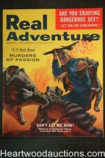 Real Adventure Mar 1956 Leonard Gribble , Hockey- Ted Lindsay, Julie Gibson - Hi