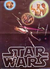 STAR WARS Japanese B2 movie poster X-WING 1977 RARE