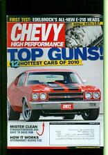 2011 Chevy High Performance Magazine: Top Guns 12 Hottest Cars of 2010