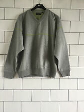 URBAN VINTAGE RETRO OVERSIZED GREY REEBOK SWEATSHIRT SWEATER JUMPER UK MEDIUM