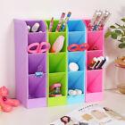 Neu Desktop Kunststoff Aufbewahrungsbox Kosmetik Organizer