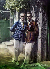 Gustave Gain autochrome photo, Sons Pierre and Andre Gain
