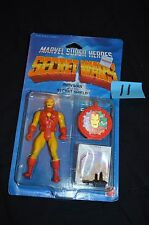 VINTAGE 1984 MARVEL SUPER HEROES SECRET WARS IRON MAN ACTION FIGURE MATTEL