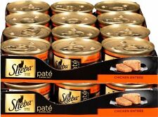 SHEBA Pate in Natural Juices Canned Cat Food Size: 3 oz. (Pack of 24) NEW CAO..