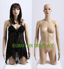 FT-2C Torse Buste Mannequin de vitrine Buste de femme mannequin de vitrine Femme