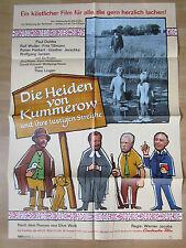 Filmposter * Kinoplakat * A1 * Die Heiden von Kummerow ... * EA 1967