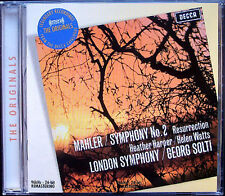 Sir Georg SOLTI: MAHLER Symphony No.2 Heather Harper Helen Watts CD Resurrection
