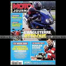 MOTO JOURNAL N°1472 MV AGUSTA BRUTALE YAMAHA YZR 500 ★ GRAND PRIX LE MANS 2001 ★