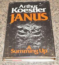Janus : A Summing Up by Arthur Koestler (1978) HB