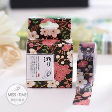 Japan Style Flower Washi Tape Paper Masking Sticker Diary Scrapbooking  Deco Tag