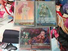Weiss Schwarz JP Miku Project Diva F Red Luka Complete Deck Sleeves Oversleeves