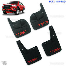 TRD Front Rear Mud Flaps Mud flaps Splash Guard For Toyota Hilux Revo 4x4 15 16