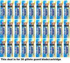 30x Gillette Guard Razor Blades/Cartridge For Safe Smooth and clear Men Shave