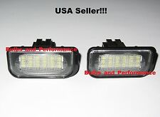 Mercedes C-Class 2001-2007 LED License Plate Light Error Free W203 4D Sedan