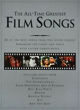 The All-Time Greatest Film Songs Learn to Play PIANO Guitar PVG Music Book